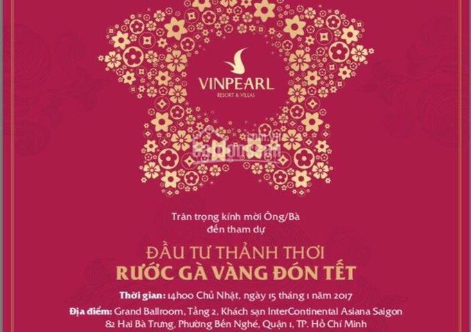 Rước gà vàng cùng nhiều chiết khấu ưu đãi với Vinpearl Phú Quốc - liên hệ 0933 120 242