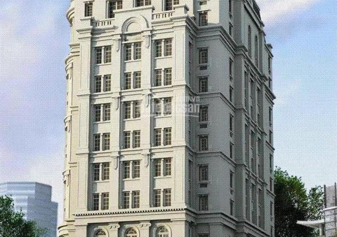 Bán nhà mặt phố 10 tầng gần Trung Hòa Nhân Chính, cho thuê 5,5 tỷ. DT 320m2, MT 22m